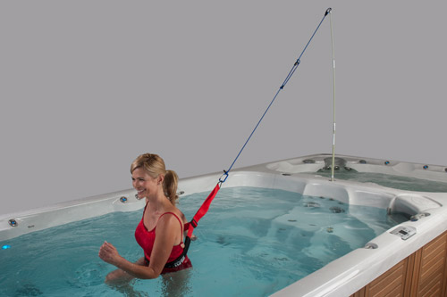 Swim Tether for Swim Spas